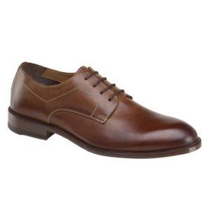 NEW Johnston & Murphy Leather Jasper Plain Toe
